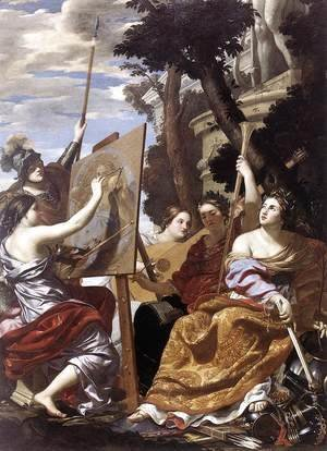 Simon Vouet - Allegory of Peace c. 1627