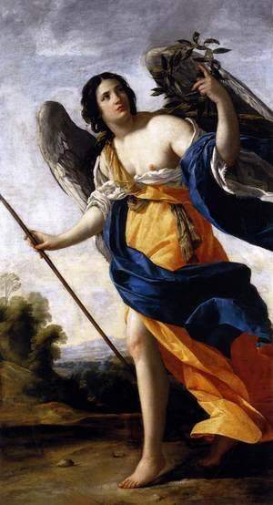 Simon Vouet - Allegory of Virtue c. 1634