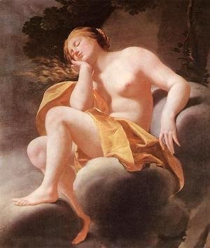 Simon Vouet - Sleeping Venus 1630-40