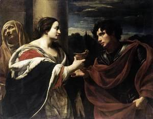 Simon Vouet - Sophonisba Receiving the Poisoned Chalice c. 1623