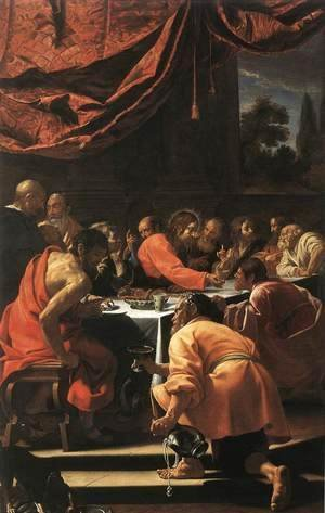 Simon Vouet - The Last Supper 1615-20