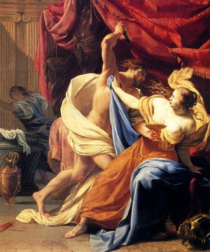 Simon Vouet - Lucretia And Tarquin