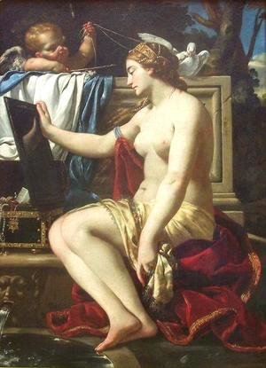 Simon Vouet - The Toilet of Venus