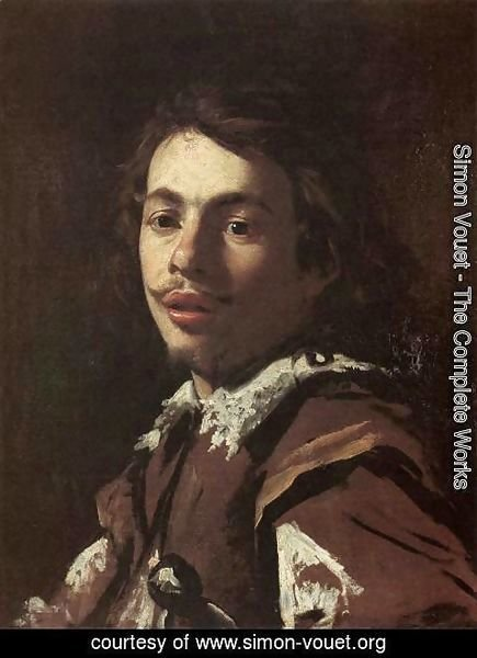 Simon Vouet - Self-Portrait