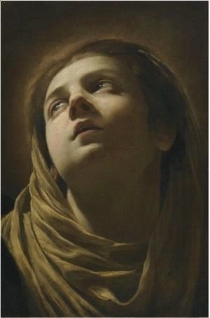 Simon Vouet - Head Of The Virgin